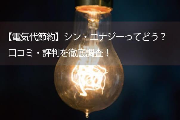 評判 シン エナジー